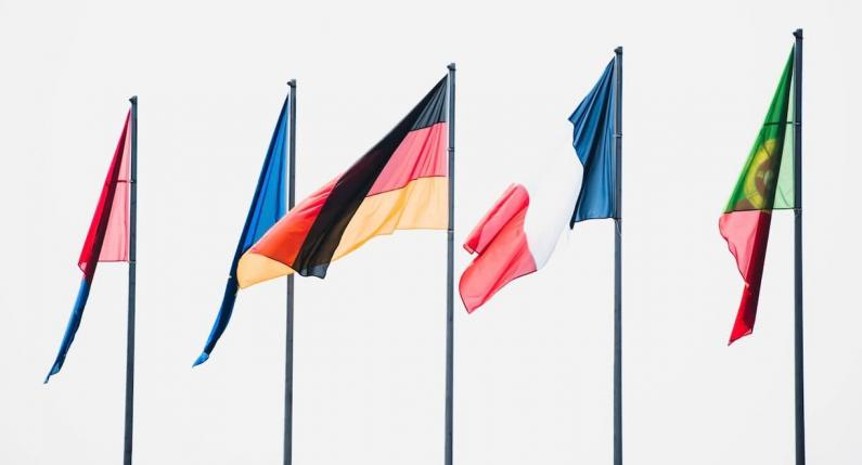 multilingual flags