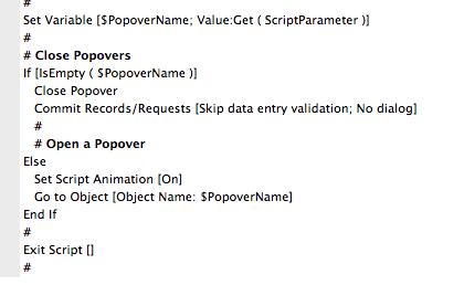 popover script